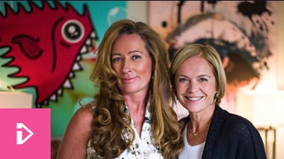 Photo of Sara Matthews and Mariella Frostrup